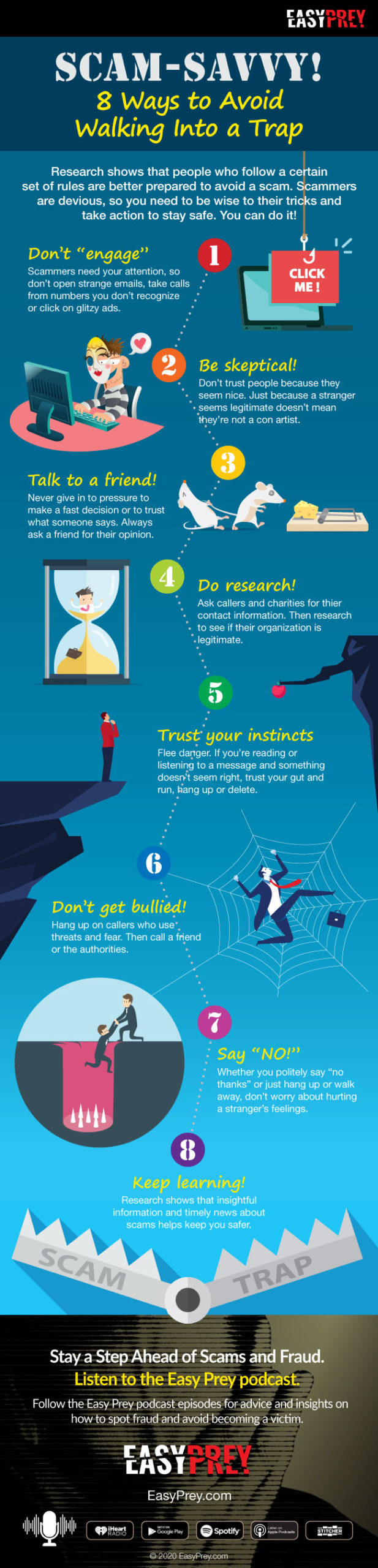 Scam Savvy Infographic
